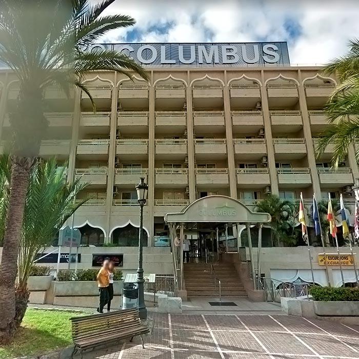 Car Hire In Playa De Las Americas Hotel Columbus
